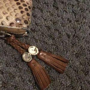 Gucci Bags - Gucci python zip around wallet